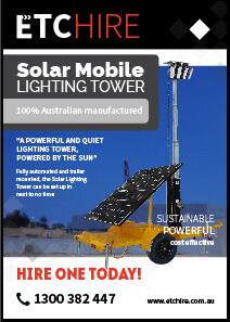 solar lighting tower