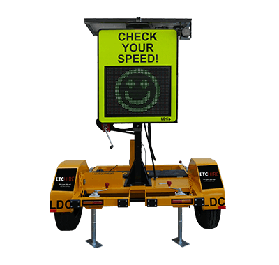 Radar Speed Check Sign